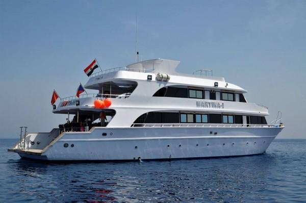 Potápěčská loď Martina v Egyptě