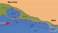 DAHAB - potápěčské lokality Blue Hole a The Bells