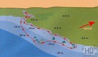 DAHAB - potápěčské lokality - Eel garden